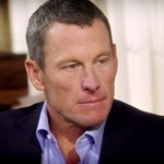 Lance Armstrong during his interview (OWN)